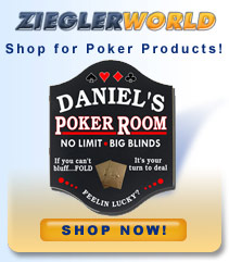 ZieglerWorld Poker Game Room Web Site